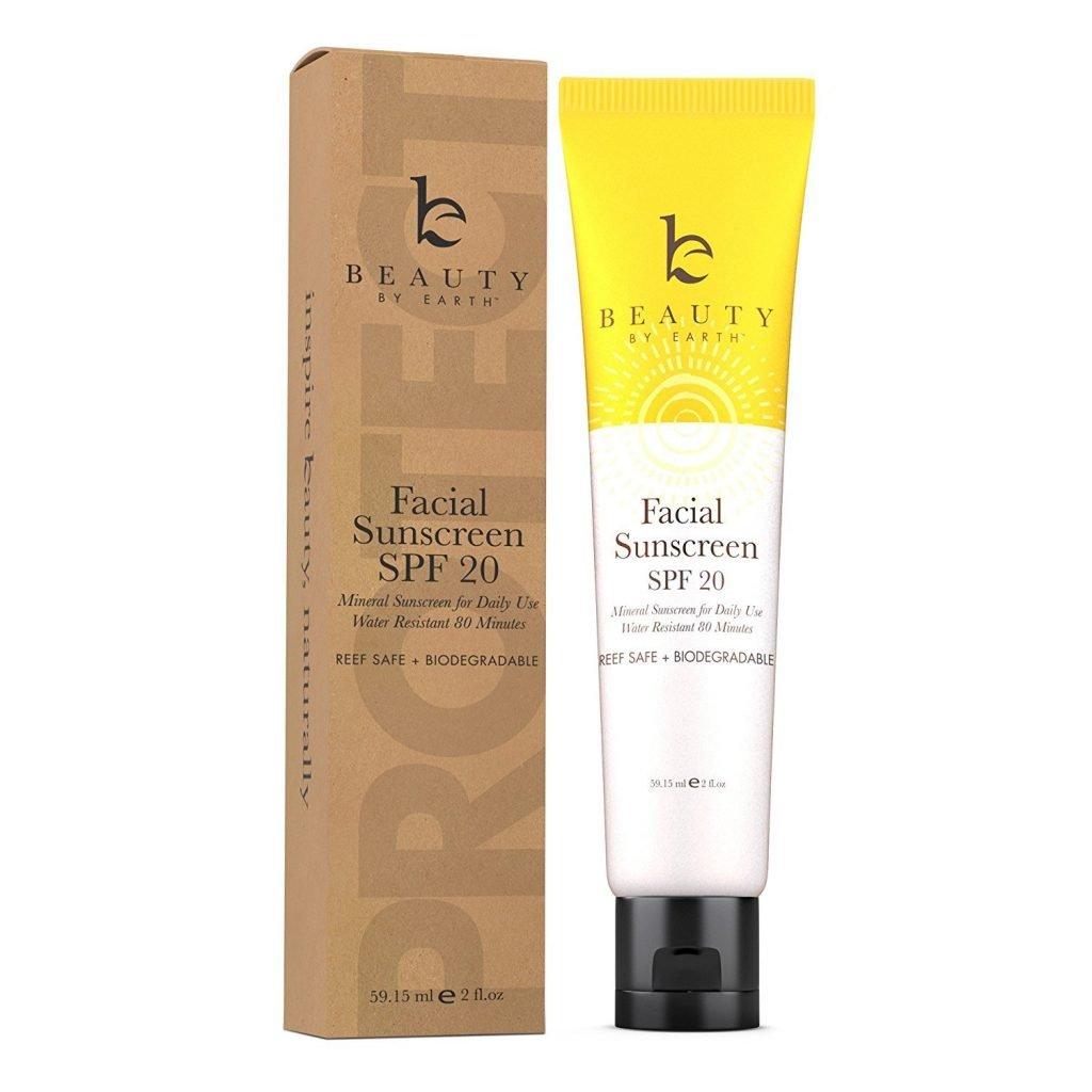 Beauty by Earth Face Sunscreen - SPF 20