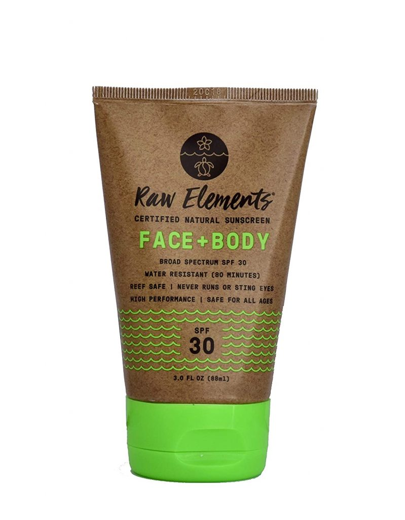 Raw Elements Natural Sunscreen for Face & Body - SPF 30+