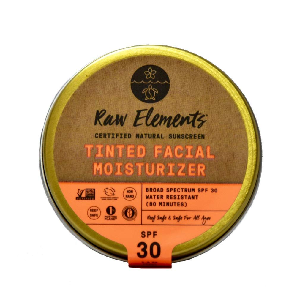 Raw Elements Tinted Facial Moisturizer - SPF 30+