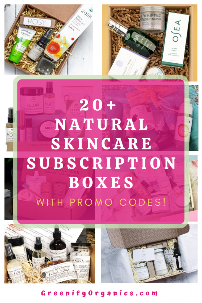Natural Skincare Subscription Boxes