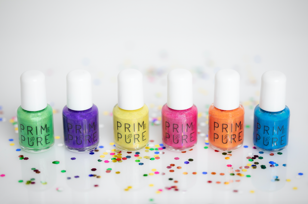 Prim and Pure nail polish for kids