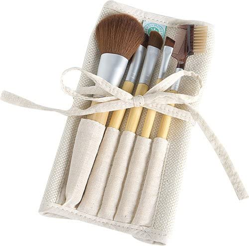 Honeybee Gardens Eco Cosmetic Brush Set