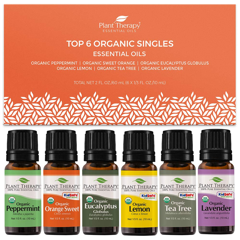 Plant Therapy Organic Essential Oil Set
